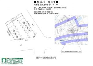 富士見市 駐車場