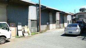 川越市南田島 40坪 貸し倉庫・工場