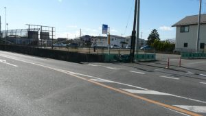 富士見市下南畑 133坪 貸し地