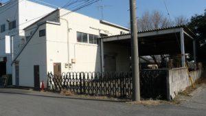 所沢市南永井 47坪 貸し工場・倉庫